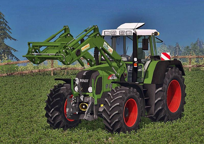 Мод трактор Fendt 818 Vario TMS v 2.0 WheelShader Farming Simulator 2015