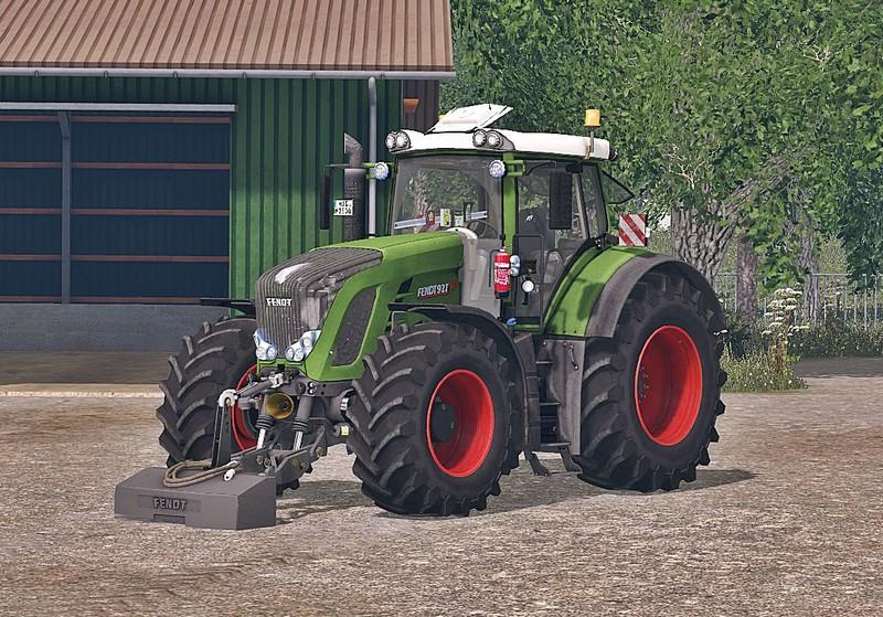 Мод трактор Fendt 927 Vario Washable v 1.0 Farming Simulator 2015