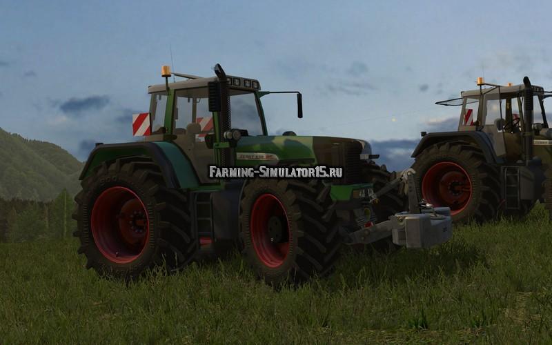Мод трактор Fendt 930 TMS Pack v 2.2 Farming Simulator 15