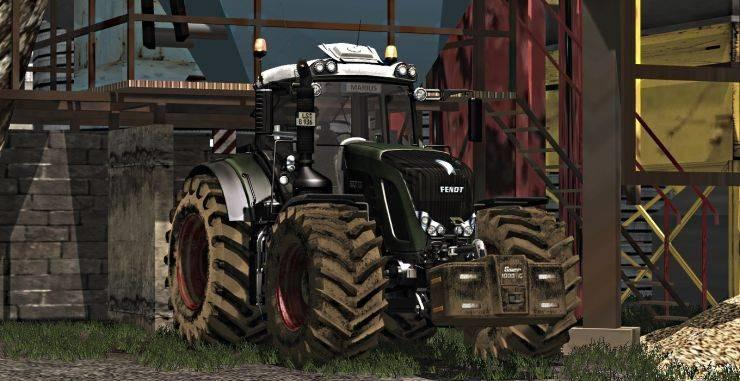 Мод трактор Fendt 936 Vario Black Beauty Washable v 1.0 Farming Simulator 2015