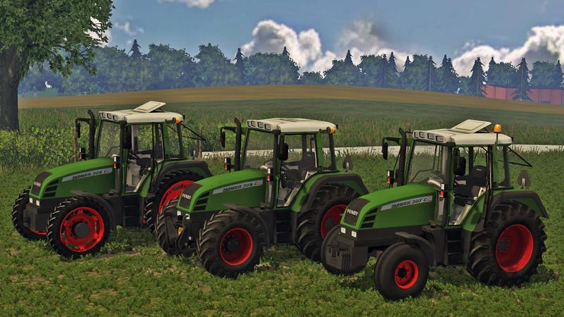 Мод трактор Fendt Farmer 309Ci v 1.0 Farming Simulator 15