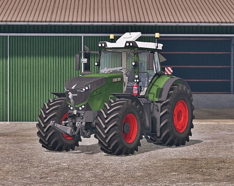 Мод трактор Fendt 1050 Vario Washable v 3.0 Farming Simulator 2015