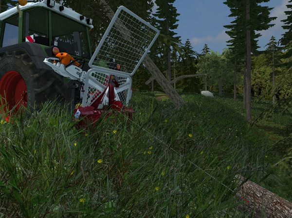 Мод лебедка Forst Winde Farming Simulator 15