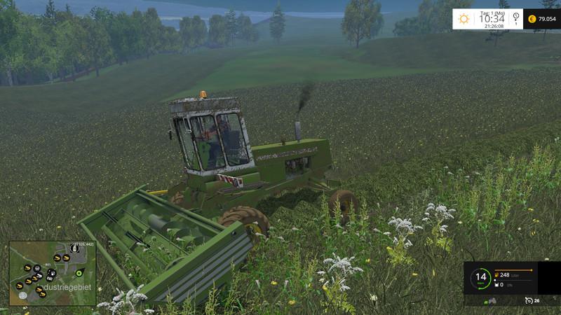 Мод Fortschritt E302 v 1.1 Farming Simulator 2015
