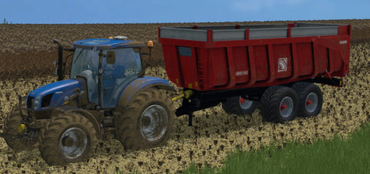 Мод прицеп Gilibert 1800 v 1.0 Farming Simulator 15