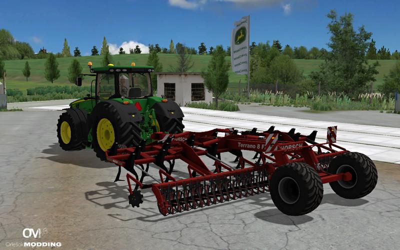 Мод культиватор Horsh Terrano 8M AO v 1.0 Farming Simulator 2015