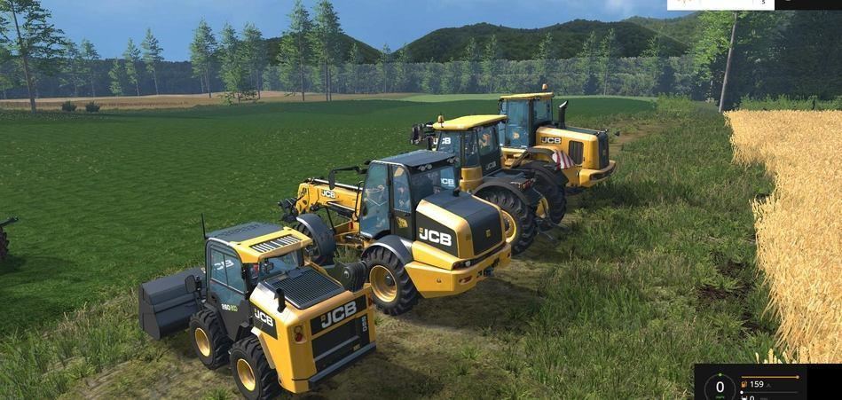 Мод ПАК JCB PACK V1.0 Farming Simulator 15