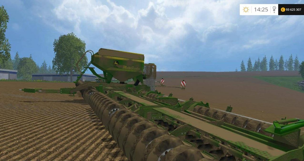 Мод сеялка JOHN DEERE MULTI SEEDER 18L V1.5 Farming Simulator 15