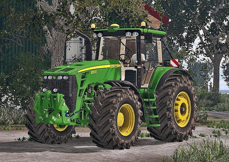 Мод трактор John Deere 8530 FH Washable v 1.0 Farming Simualtor 15