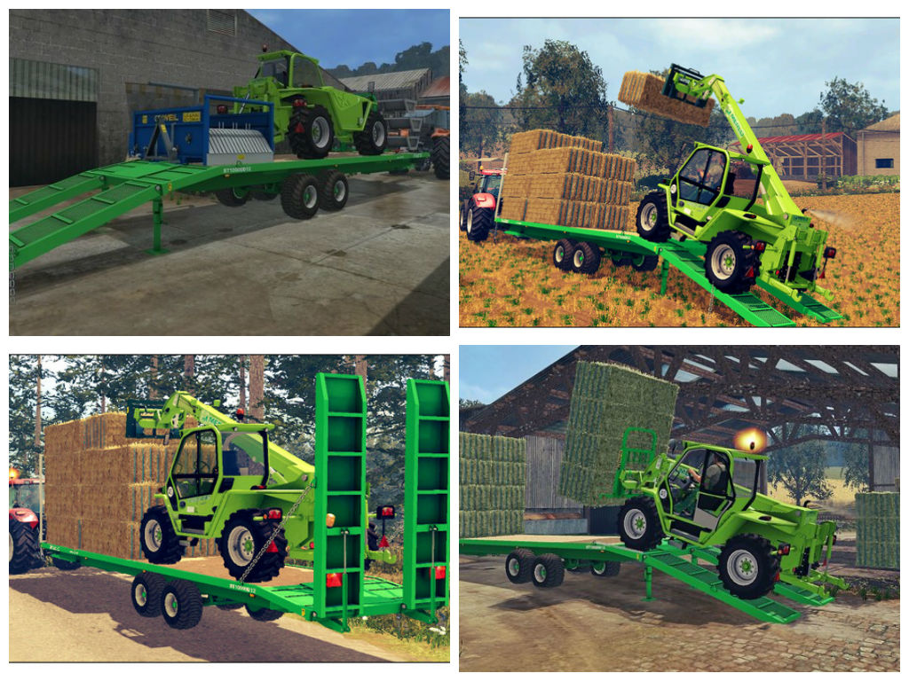 Мод прицеп Joskin Wago loaders 8m and 10m v 1.1 Fix & WheelShader Farming Simulator 2015