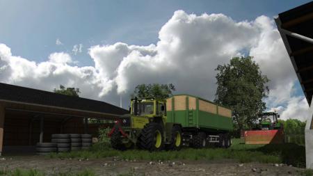 Мод прицеп KEMPF 24T Farming Simulator 15