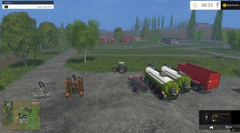 Мод Kaweco barrel for Claas 5000 v 2.0 Farming Simulator 15