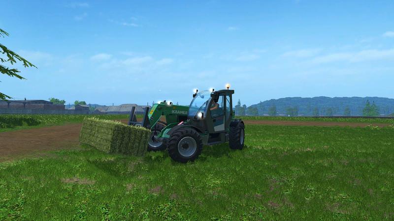 Мод погрузчик Kramer KT276 v 1.0 Farming Simulator 2015