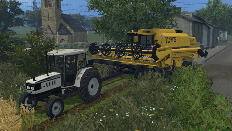 Мод трактор Lamborghini Grand Prix 774-80 2WD v 1.0 Farming Simulator 2015