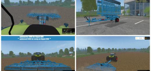 Мод Lemken Gigant 800 carrier system v 1.0 Farming Simulator 15