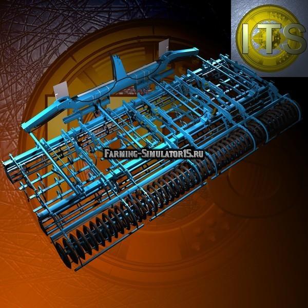 Мод культиваторы Lemken Kompaktor K-Series v 1.5 Farming Simulator 2015