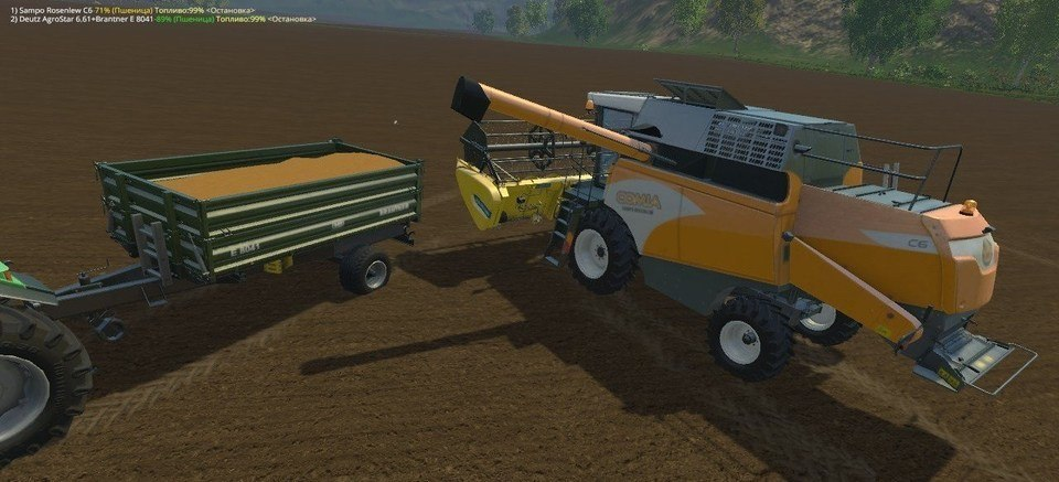 Мод скрипт Load status Farming Simulator 2015