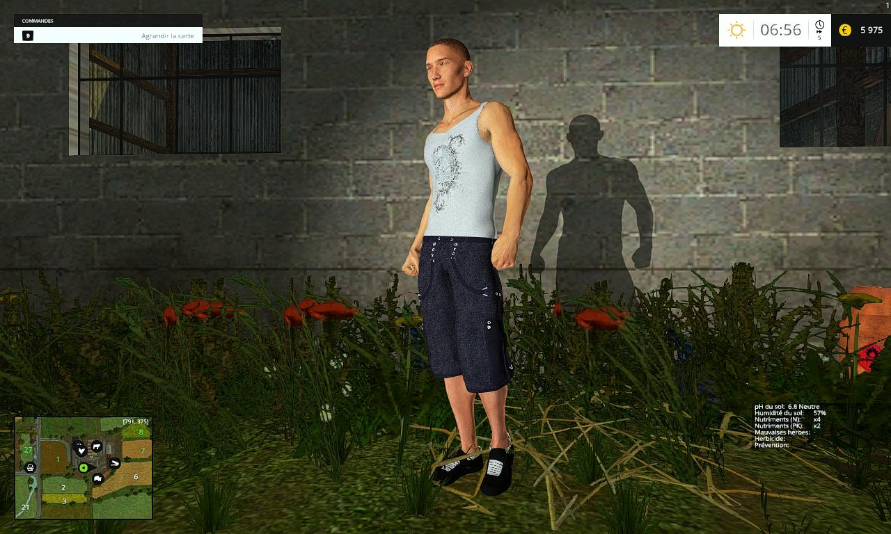 Мод Placeable man v 1.0 Farming Simulator 15