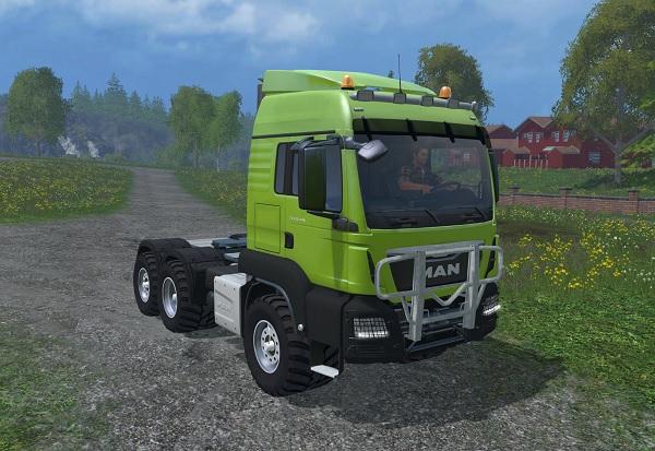 Мод тягач MAN TGS 18.440 v 1.0.0 Farming Simulator 2015