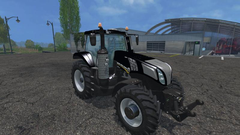 Мод трактор NEW HOLLAND BLACK BEAUTY V1.0 Farming Simulator 2015