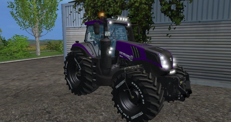 Мод трактор NH T8.420 PKM Farming Simulator 2015