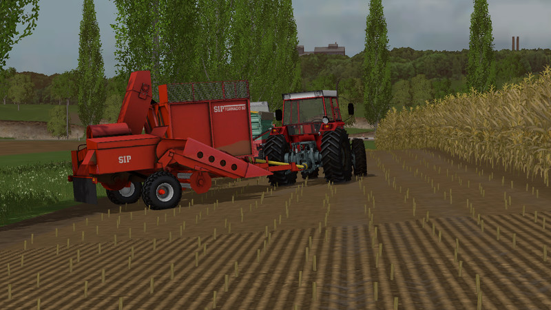 Мод комбайн SIP Tornado 80 V 1.0 Farming Simulator 2015