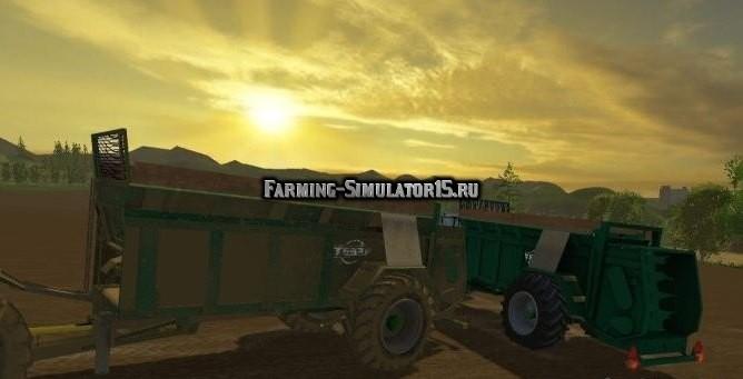 Мод прицеп Tebbe HS180 v 2.0 Farming Simulator 2015