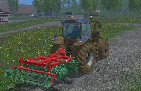 Мод культиватор UNIA CUL L v 1.1 Farming Simulator 2015