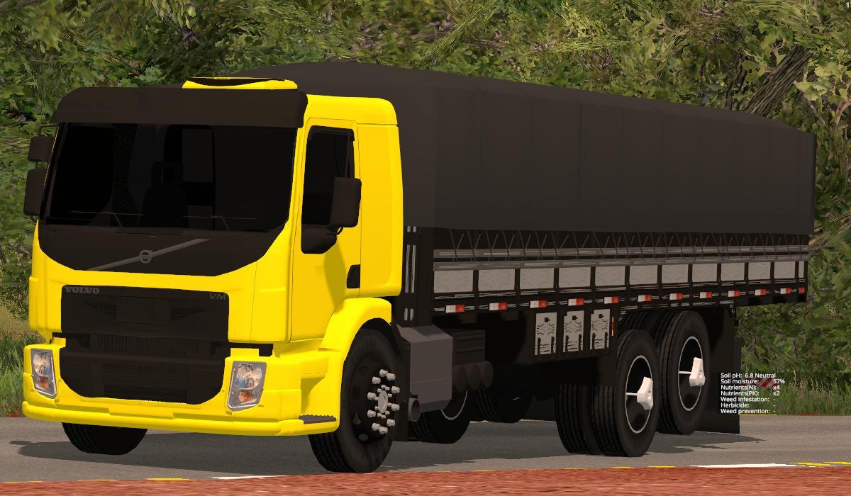 Мод грузовик VOLVO VM 2015 V1.0 Farming Simulator 15