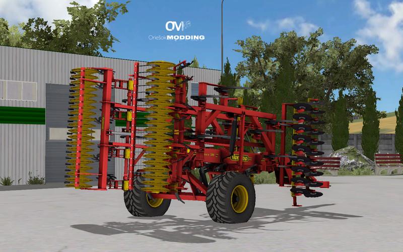 Мод культиватор Vaderstadt TopDown 500 AO v 1.0 Farming Simulator 2015