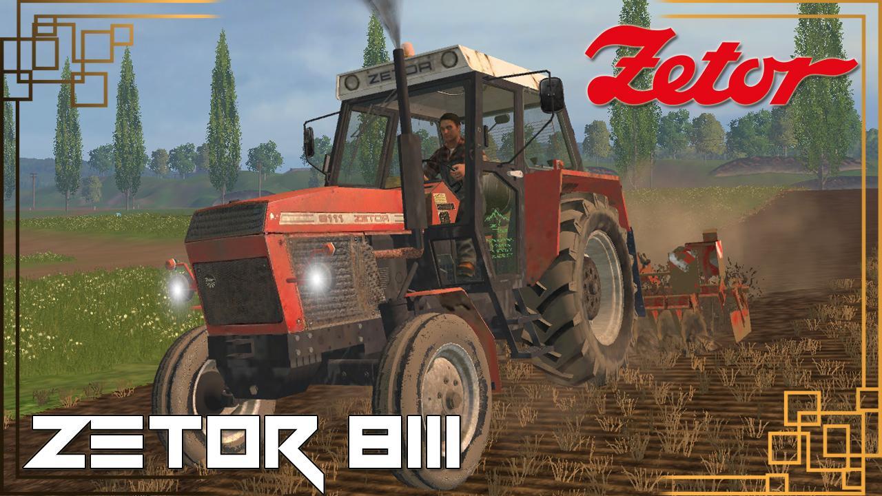 Мод трактор Zetor 8111 v 1.0 Farming Simulator 15