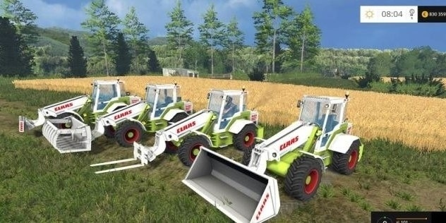 Мод погрузчики CLAAS RANGER 940 GX Farming Simulator 15