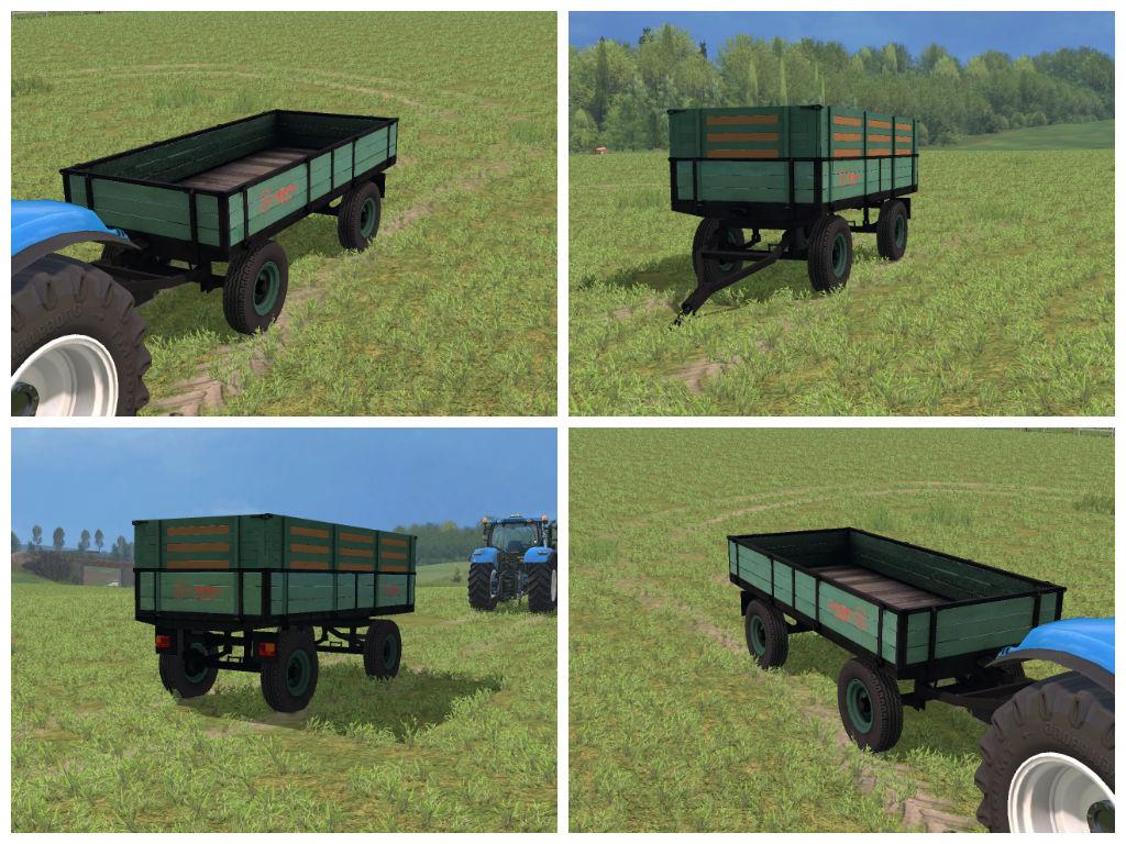 Мод прицеп Dubrava v4.5 Farming Simulator 2015