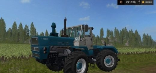 Мод трактор FS ХТЗ Т-150К Фермер Симулятор 2017