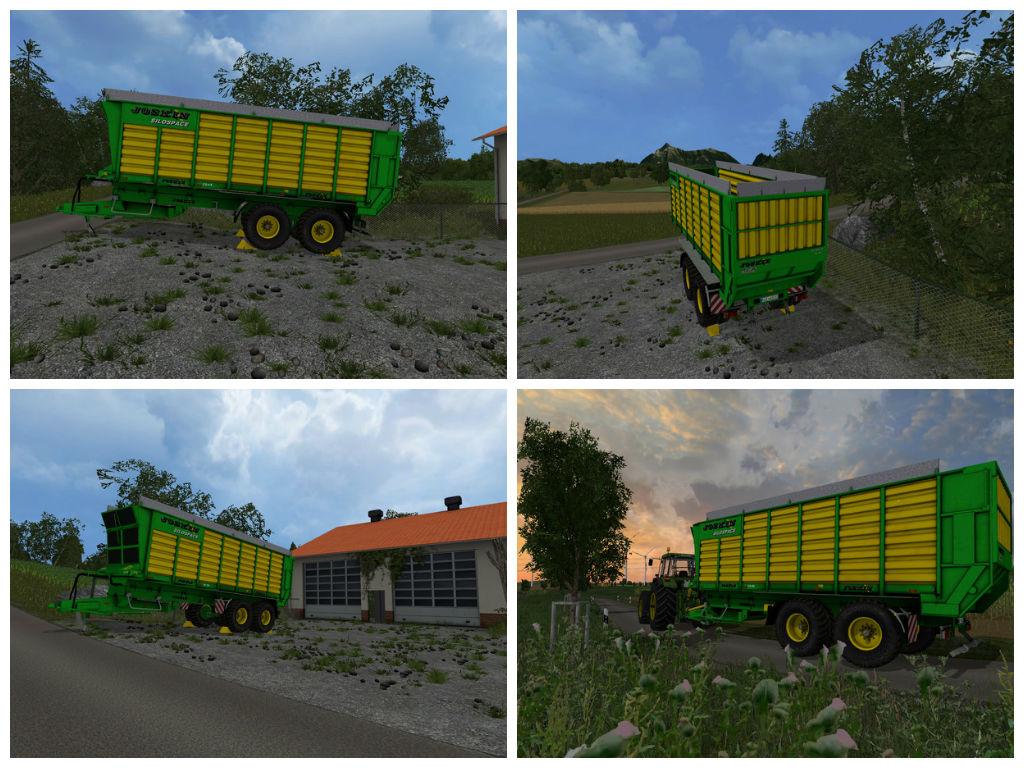 Мод прицеп Joskin Silospace 2245 V 2.0 Farming Simulator 15