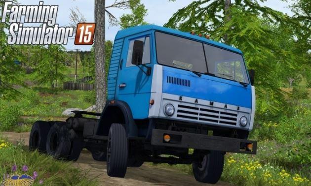 Мод тягач КамАЗ 5410 v 1.0 Фермер Симулятор 2015