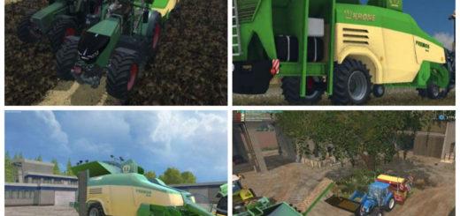 Мод Krone Premos 5000 v 2.0 RUS Farming Simulator 2015