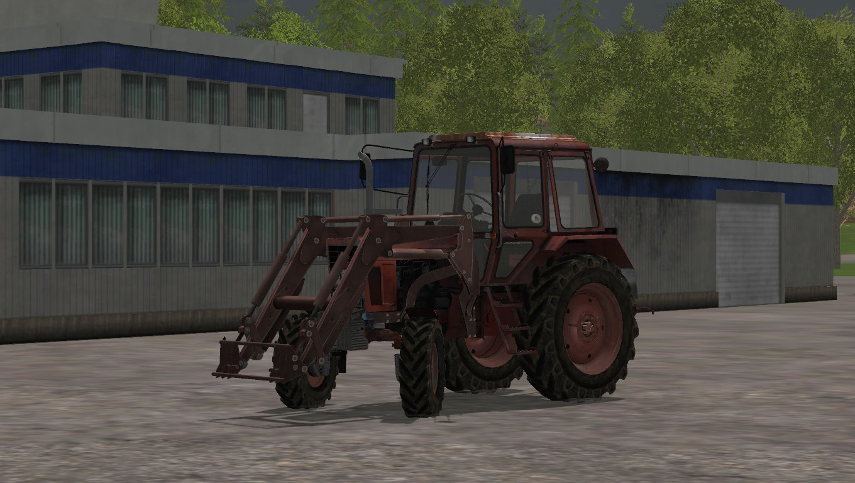 Мод трактор МТЗ MTZ 82 FL Фермер Симулятор 2015