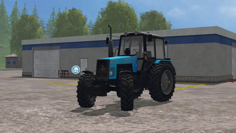 Мод трактор МТЗ-1221 Фермер Симулятор 2015