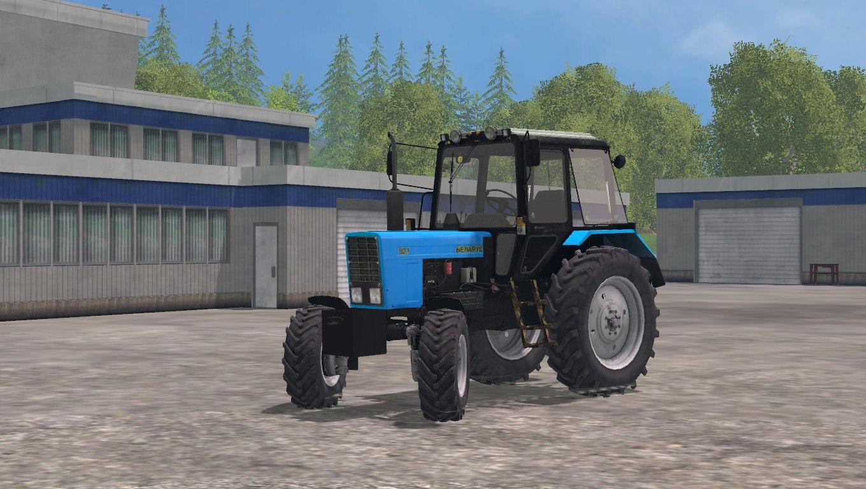 Мод трактор Мтз-82.1 Фарминг Симулятор 2015