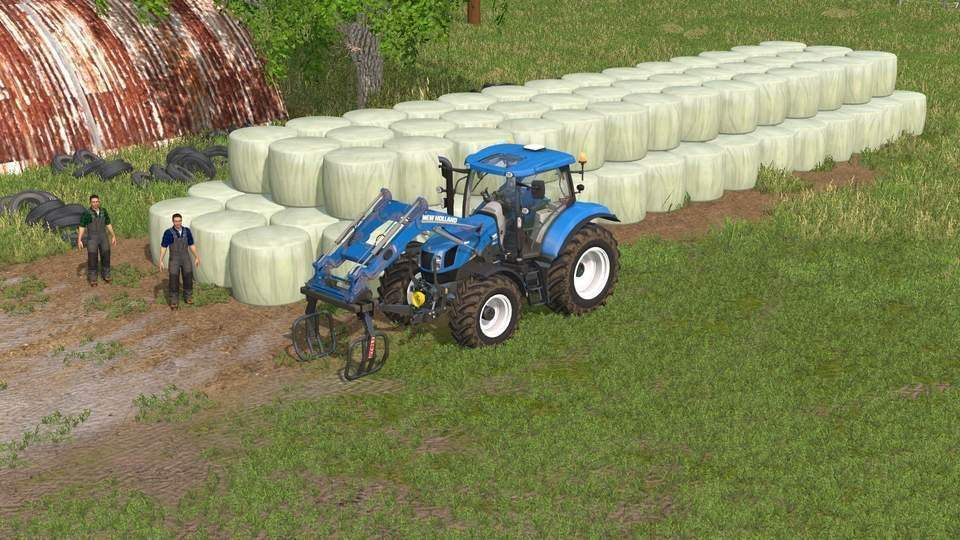 Мод скрипт Buy Bales v 1.3 Farming Simulator 15