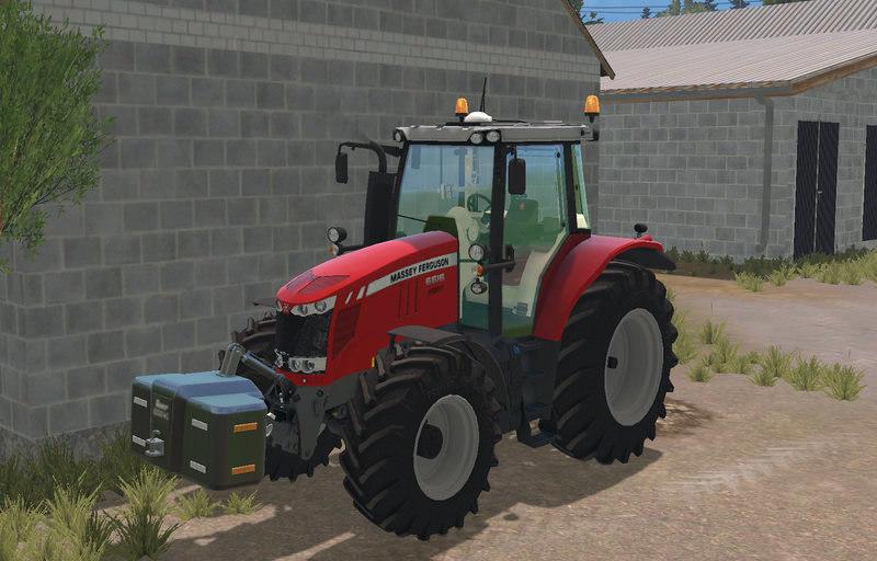 Мод трактор Massey Ferguson 6616 Farming Simulator 15