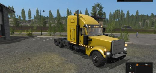 Мод грузовик SEMI TRUCK BY STEVIE Farming Simulator 17