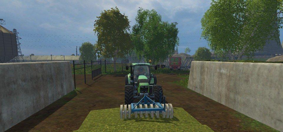 Мод Silage roller Farming Simulator 2015