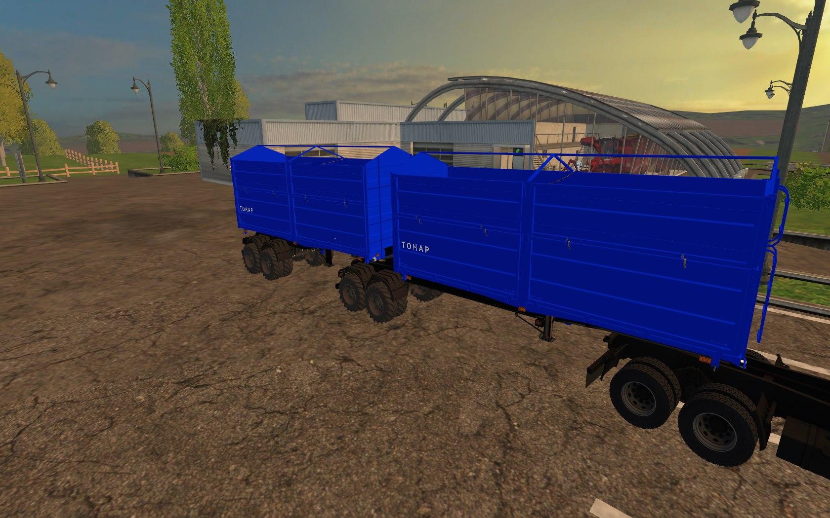 Мод прицеп TOHAP Caravan Фермер Симулятор 2015