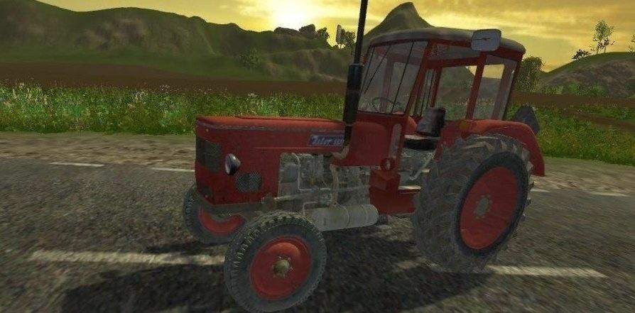Мод трактор Zetor 4712 Farming Simulator 2015