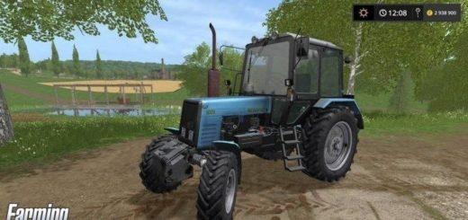 Мод трактор МТЗ 1025 v 2.0 Фарминг Симулятор 2017