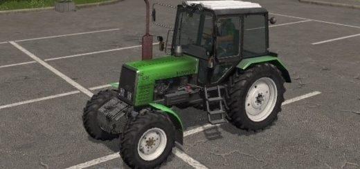 Мод трактор МТЗ 1025 v 1.3.0.0 Фарминг Симулятор 2017