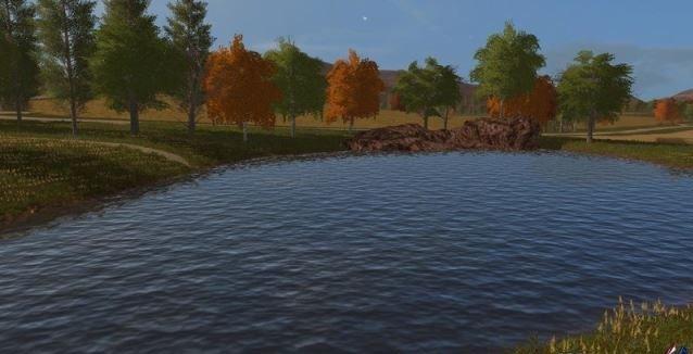 Мод Square Waterplane v 1.0 Farming Simulator 17