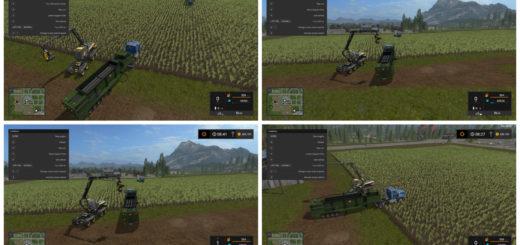 Мод The Beast (FSM) WoodCrusher Farming Simulator 2017
